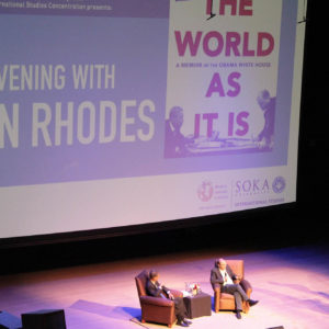 An Evening With Ben Rhodes