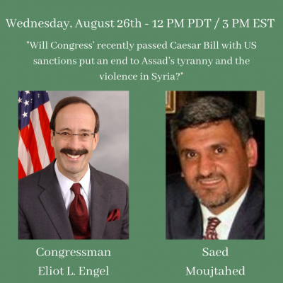_Will Congress' recently passed Caesar Bill with US sanctions put an end to Assad's tyranny and the violence in Syria_