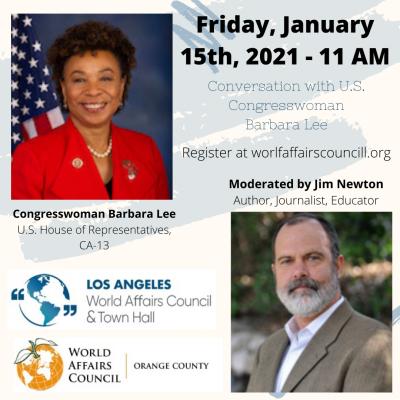 Congresswoman Barbara Lee U.S. House of Representatives, CA-13